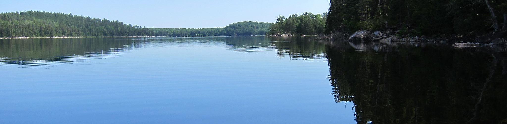Quetico quiet lakes trip