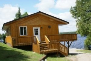 Quetico fishing cabins